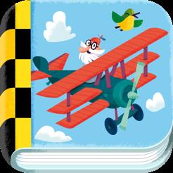 Flugzeug Wimmelbuch App