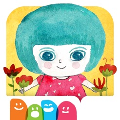 Marina und das Licht - Ein interaktives Geschichte ohne Worte für Kinder