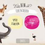 Wer bin ich? Tiere entdecken: ein interaktives Tierlexikon als App