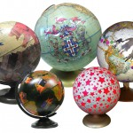 Kunstvolle Welten: handbemalte Globen von ImagineNations