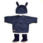 Handgestrickte Babysachen von Berlin-Baby