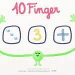 """Lerne die Zahlen bis Zehn: Die süße Kinder-App """"10 Finger"""""""