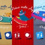 Meine 1. App Sammelband: drei kunterbunte Mini-Spiele Apps für Kleinkinder