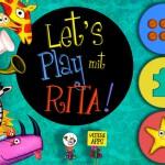Let's play mit Rita: kunstvolle Puzzle und Memory-App für Kleinkinder