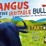 Angus, the irritable Bull: die bunte Kinderbuch-App mit einem grimmigen Stier