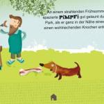 """Eine hübsche Kinderbuch-App mit den zwei Hunden """"Pimpfi und Rocco"""""""