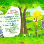 Mitsing-Buch als kostenlose App: Alles wird grün