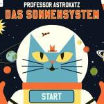 Professor Astrokatz – Das Sonnensystem: Lern App über unsere Planeten