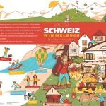 Schweiz Wimmelbuch App: eine Suchbild App für kleine Schweizer