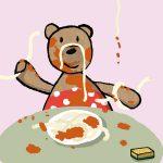 Emma isst: eine ruhige, schöne Bilderbuch App für Kinder von Jutta Bauer