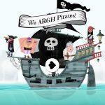 We ARGH Pirates: Witzige Kinder App über geheime Schätze, wilde Schifffahrten und Riesen-Kraken