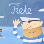 Ahoi! Der Seemann Fiete zeigt seine bunte Aquarell-Welt