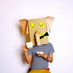 Kostüm-Ideen aus Karton von Linus & The Feel Good Factory