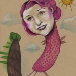 Beeindruckende Kunstwerke von Mutter und Tochter