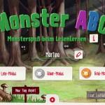 Monster ABC: Buchstaben lernen mit Monsterspaß
