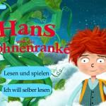 """Das Märchen """"Hans und die Bohnenranke"""" als App: Zauberbohnen, ein Riese und ein Drache"""