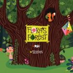 Flora's Forest: englische und kostenlose Kinderbuch App über Freundschaft
