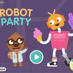 Sago Mini Roboter Party: witzige Bastel-App für Kleinkinder