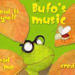 Bufo's Music: schöne englisch-sprachige Kinderbuch App über Selbstfindung